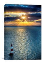 Beachy Head Daybreak, Canvas Print