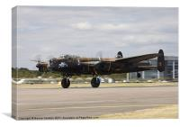Avro Lancaster, Canvas Print