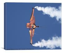 Dutch F16 Falcon, Canvas Print