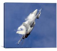 F/A 18 Super Hornet, Canvas Print