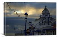 Piers End, Canvas Print