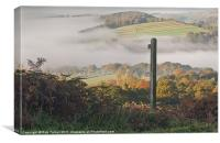 Autumn At Curbar, Canvas Print