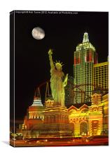 Vegas Nights, Canvas Print