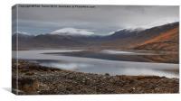 Highland Loch, Canvas Print