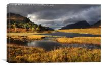 Autumn Torridon, Canvas Print