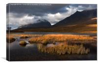 Torridon Light, Canvas Print