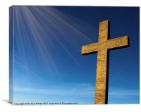 Heaven's Cross, Canvas Print