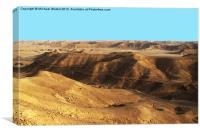 Arabian Sands, Canvas Print