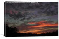 Atlanta Sunset, Canvas Print