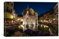 Annecy Evening, Canvas Print