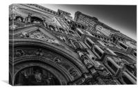 Cathedral of Santa Maria del Fiore front door, Canvas Print