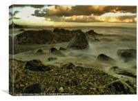 Slow Tide, Canvas Print