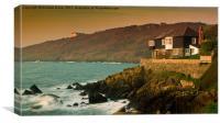 Sunrise Cove, Canvas Print