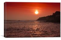 Sunset Wave, Canvas Print