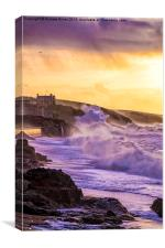 Porthleven seafront, Canvas Print