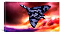 Vulcan Sunset, Canvas Print
