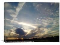 Sky, Canvas Print