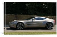 Aston Martin one-77, Canvas Print