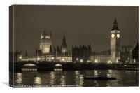 Night time in London