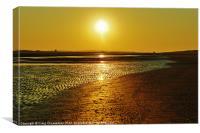 Sunset, Canvas Print