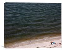 Beach Bound, Canvas Print