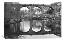 Knaresborough Bridge, Canvas Print