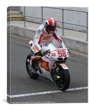 Moto GP, Canvas Print