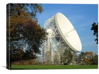 Jodrell Bank, Canvas Print