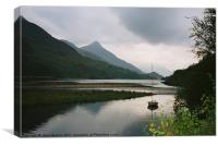Loch Leven, Scotland, Canvas Print