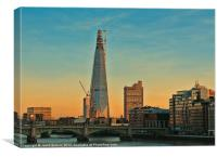 Building The Shard, Canvas Print