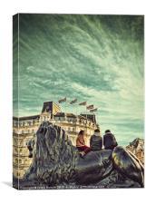 Cool Britannia, Canvas Print