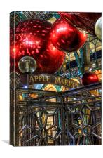 Apple Market, Canvas Print