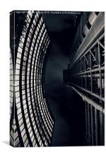 Vertigo I, Canvas Print