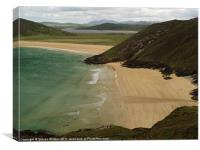 Rossan Bay, Canvas Print