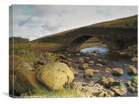 Coverdale Bridge, Canvas Print