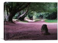 The Triscombe Stone, Canvas Print