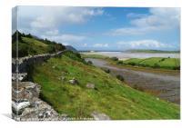 Bracky River Estuary, Canvas Print