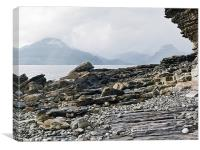 At Elgol, Canvas Print