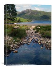 Loch Ba, Canvas Print