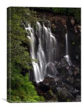 Aros Waterfall, Canvas Print