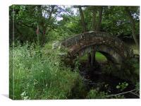 Thornthwaite Bridge, Canvas Print