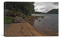 Loch Ruthven, Canvas Print
