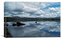 Lough Eske Reflection, Canvas Print