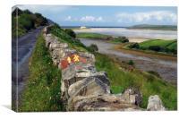 The Bracky River Estuary, Canvas Print