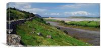 The Bracky River Estuary 2, Canvas Print