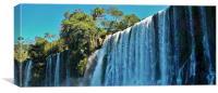 Iguazu Falls., Canvas Print
