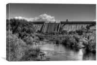 Friant Dam, Canvas Print