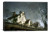 WITCH'S COTTAGE, Canvas Print