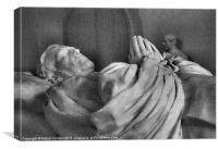 TOMB - ST. ALBANS ABBEY, Canvas Print