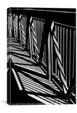 BRIDGE PATTERNS, Canvas Print